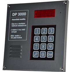 Szerelt DP3000 előlap